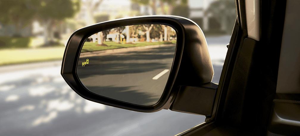 Rav4 available blind spot monitoring