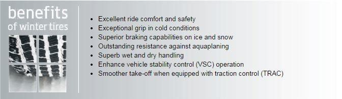 Benefits of Winter Tires