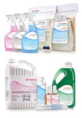 Toyota Cleaning Products